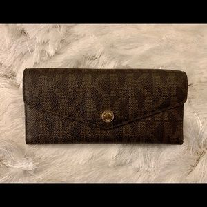 Authentic Micheal Kors Trifold Wallet
